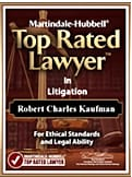 Top Rated Lawyer Martindale Hubbell Award